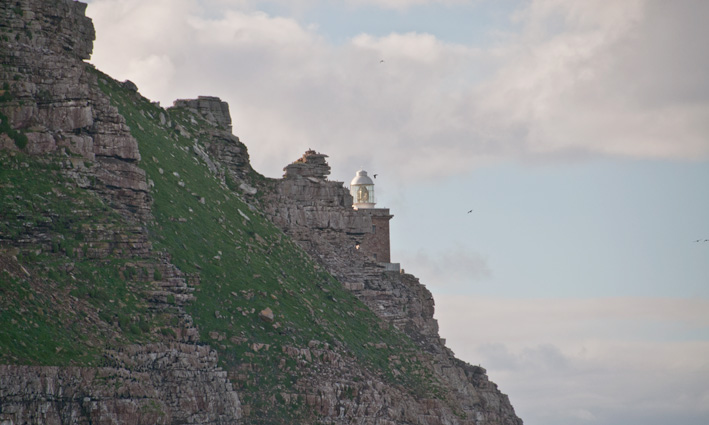 The lower lighthouse at Cape Point.