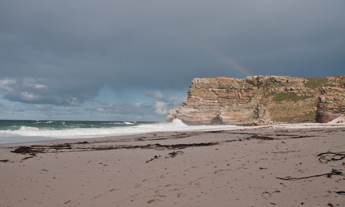 Dias Beach is just west of Cape Point.