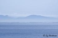 December: False Bay serene after southeasterly gales.