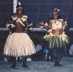 Pacific Islanders of Micronesian descent have a rich culture of song and dance.