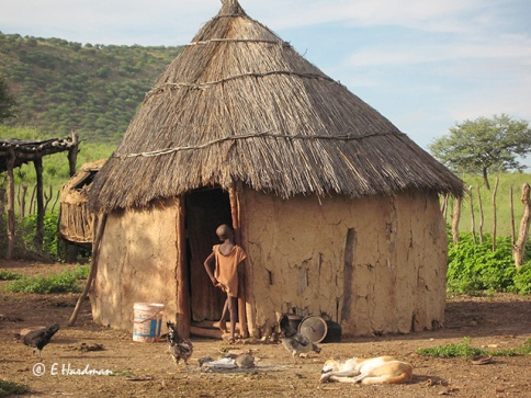 Himba-village