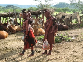 A few isolated societies are able to resist change and maintain their cultures. The Himba. The Himba are semi-nomadic pastoralists. Here a remote camp of the Opuwo region of Namibia protect the rights of the Himba to preserve their way of life.