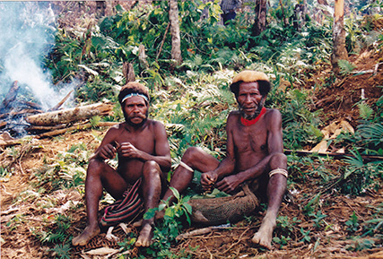 Hunter-gatherers and traditional people