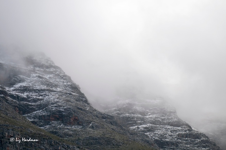 Snow on the Boland Mountains