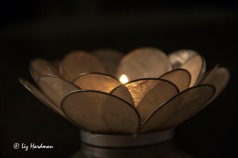 Candle power, it saves electricity :)