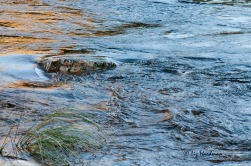 Riffles and ripples.