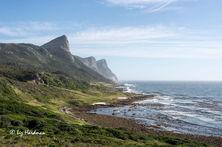 The Three Peaks _ Paulsberg. Die Boer, and Judas Peak.