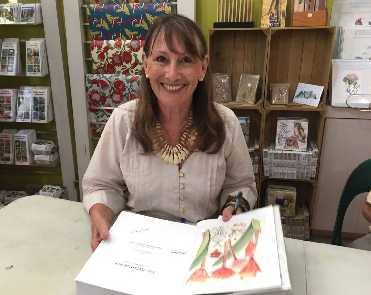 Leigh Voigt at book signing
