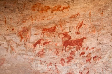 San rock art _ Cedarberg
