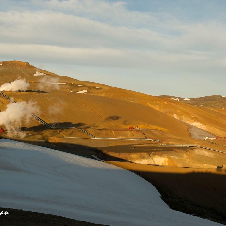 Earth : Krafla Iceland