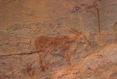 Eland rock art