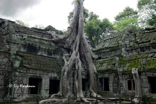 The atmospheric setting of Ta Phrom