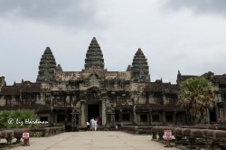 "The largest religious monument in the world, Angkor Wat literally means the ""City which is a Temple"""