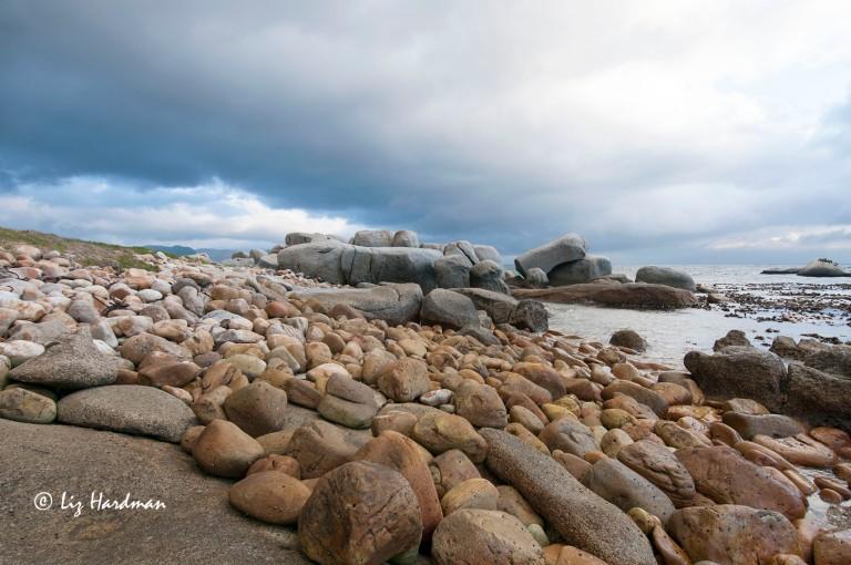 Granite boulders False Bay